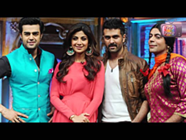 Harman Baweja & Shilpa Shetty  on Mad In India 9th March 2014 EPISODE