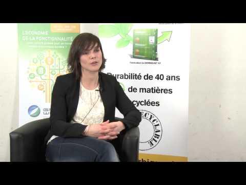 Conférence internationale - L'économie de la fonctionnalité: Anne Sophie Ansenne