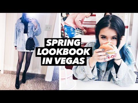 Spring Lookbook in Vegas 2017 💸