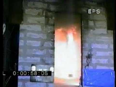Rockwool test pożarowy