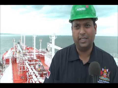 Trinidad and Tobago Energy Minister Kevin Ramnarine visits LNG tanker PART 3
