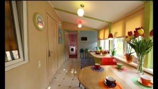 Кухня и санузел на даче