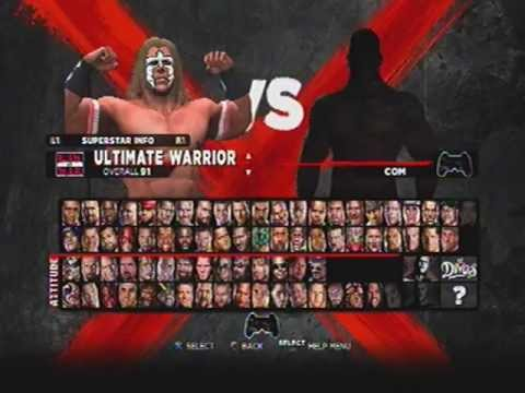 Complete WWE '13 Roster