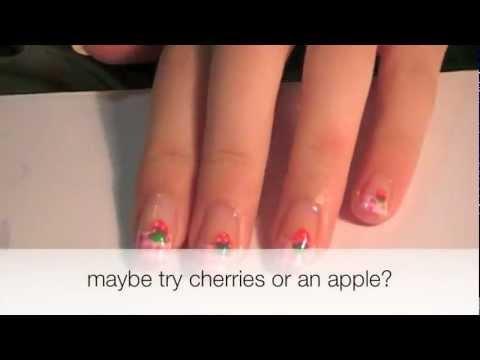 Depkhoenews.com: Ve nails dau tay de thuong cho mong xinh