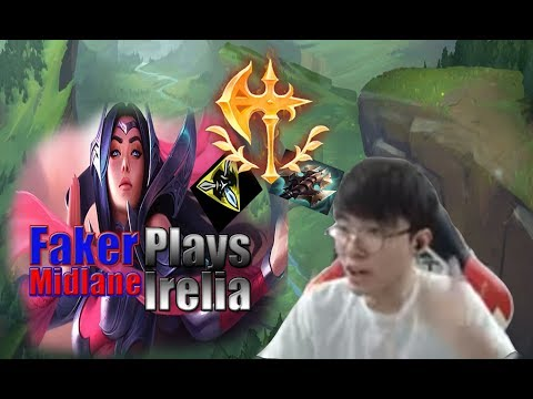 SKT T1Faker is a Best Play with irelia Game! - SKT T1 Faker Irelia Mid! | Live Stream