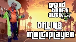How to be a pimp in GTA 5 Online Multiplayer (Grand Theft Auto 5 Multiplayer Gameplay)