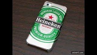 Tự Làm ốp lưng điện thoại bằng vỏ lon bia heineken  cực độc