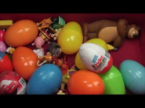 Bóc trứng đồ chơi - 50 quả trứng bóc chocolate khám phá thú vị - giúp bé thông minh