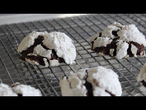 Chocolate Snowcap Cookies - Classic Holiday Cookie Recipe