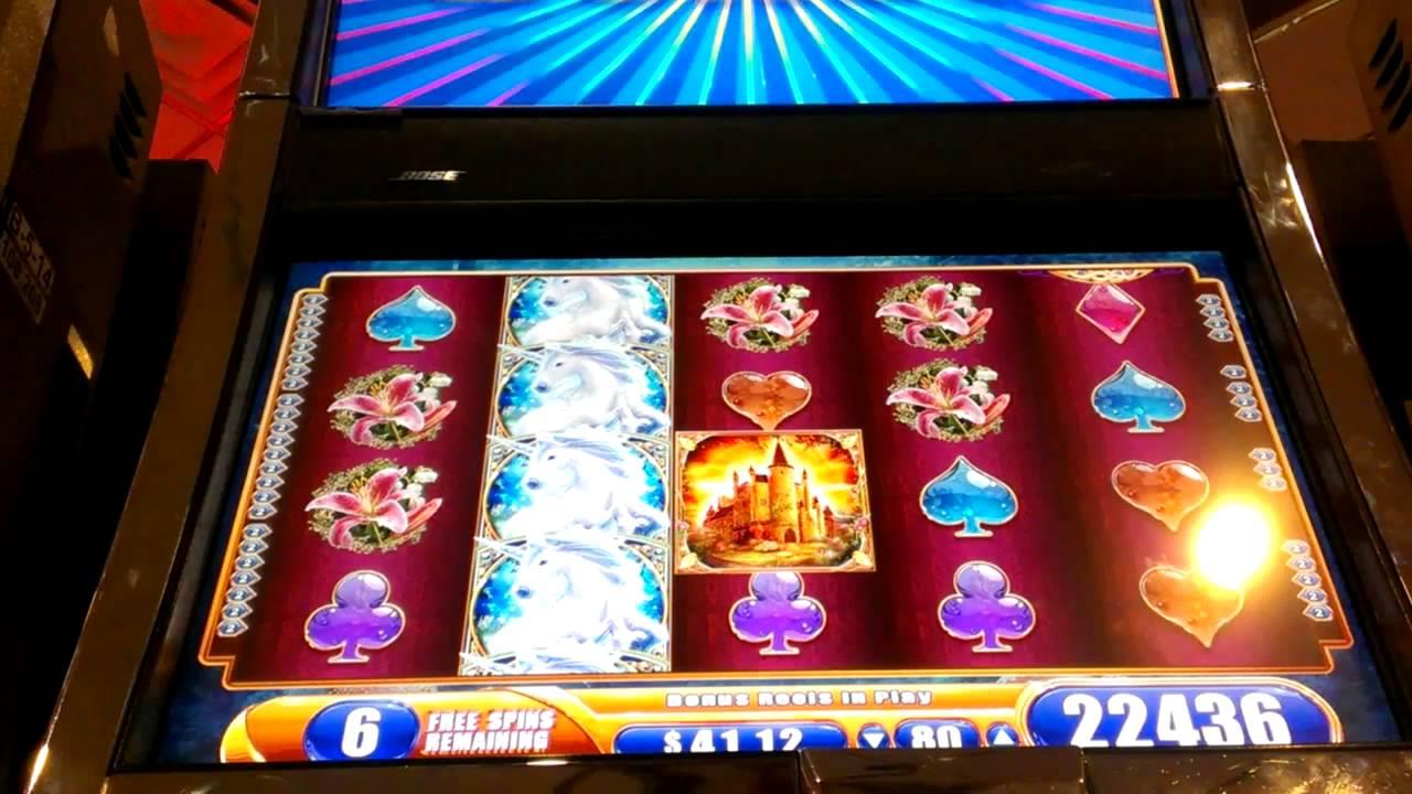 Unicorn slot machine wins
