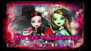 Monster High Stop Motion & Review Draculaura Frights