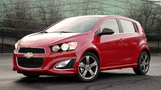 2013 Chevrolet Sonic RS WR TV POV Test Drive