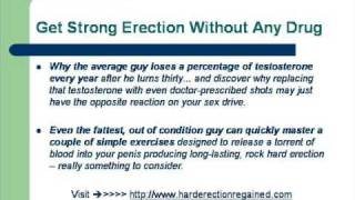 How To Get Rock Hard Erection