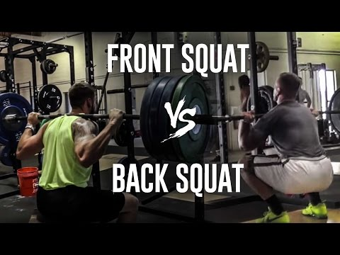 Best for Performance: Back vs Front Squat