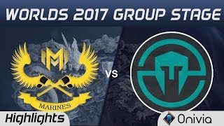 GAM vs IMT Highlights World Championship 2017 Group Stage Gigabyte Marines vs Immortals by Onivia