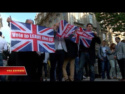 Cử tri Anh bỏ phiếu rút khỏi EU, Thủ tướng Cameron sẽ từ nhiệm