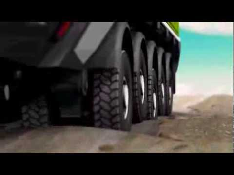 ETF caminhões de mineração