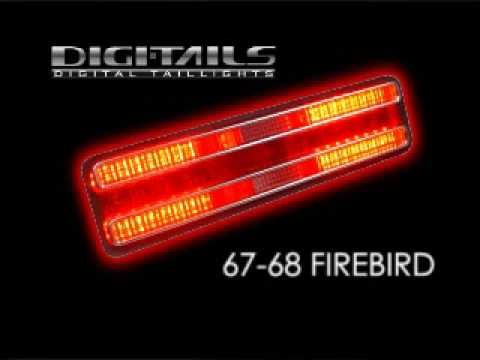 Digi Tails 1967 68 Pontiac Firebird Sequential Led Tail Lights Youtube