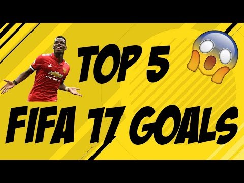 MY BEST GOALS THROUGHOUT FIFA 17!!