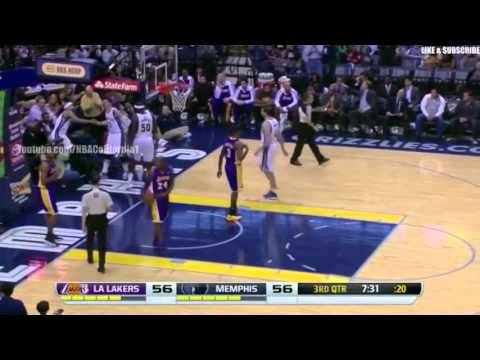 LA Lakers vs Memphis Grizzlies | December 17 - 2013 | Full Game Highlights | NBA 2013 14 Season