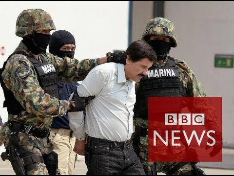 World's 'most wanted' drug lord - Joaquín Guzmán - arrested in Mexico - BBC News