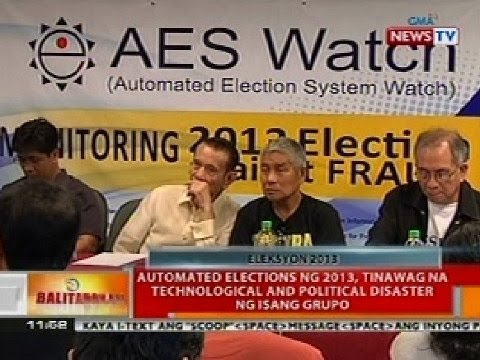 BT: Automated elections ng 2013, tinawag na technological and political disaster ng isang grupo