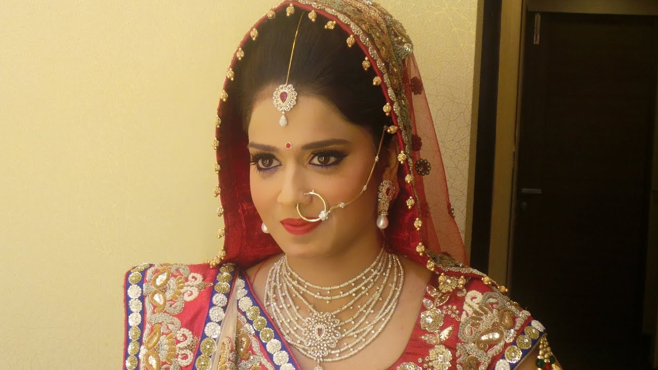 Indian bridal makeup classy rajasthani look youtube