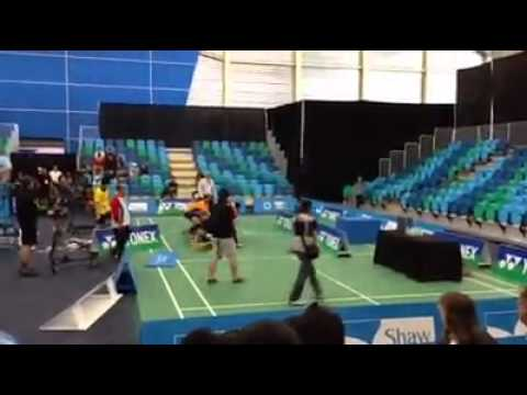 Fist fight breaks out at B.C. badminton tournament between former partners