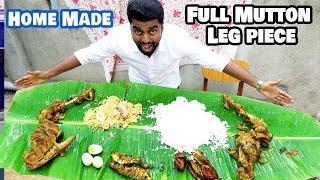 Veetu Virunthu | Full Mutton Leg Piece cooking Dan JR Chennai Vlogger |MEDAVAKKAM VELACHERY| foodie