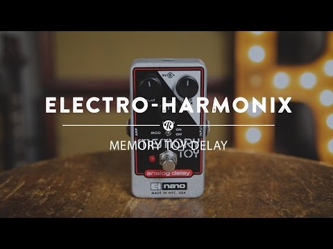 Electro Harmonix Memory Toy Analogue Delay Effects Pedal for Guitar