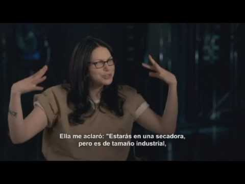 Orange Is The New Black Season 2 Cast Interview Laura Prepon SUBTITULADO HD