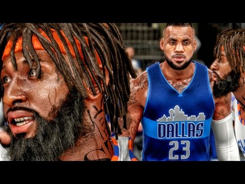 LEBRON JAMES JOINS THE MAVS! NBA 2k16 My Career Gameplay Ep. 91