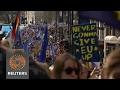 Thousands join pro-EU march through London