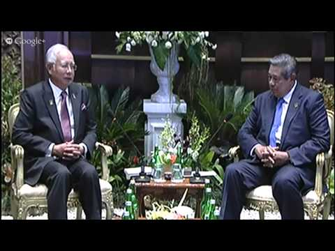 KTT APEC 2013 : Bilateral Meeting Indonesia - Malaysia (8 Oktober 2013)