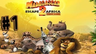Madagascar: Escape 2 Africa Walkthrough Part 1 In