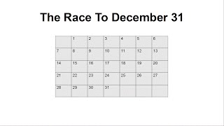 Can You Solve The Race To December 31 Riddle?