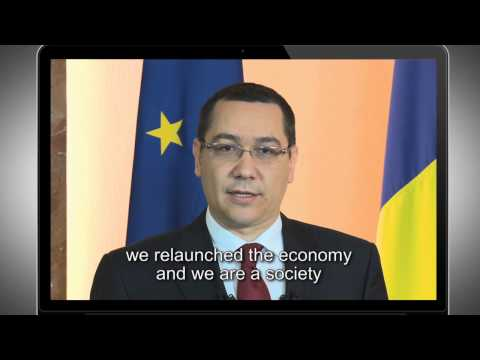 Victor Ponta: Towards a New Europe