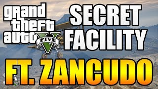 "GTA 5 ""SECRET"" Underground Lab In Fort Zancudo!? Part Of"