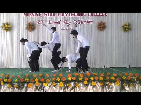 THE BEST MIME EVER..(Morning Star College 28th annual daycelebration................................