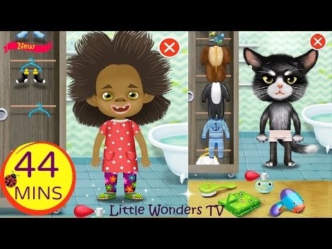 Pepi Bath 2 | Educational App for Kids | Full Game Play -  Over 44 Minutes