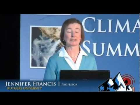 Climate Change and Extreme Weather: Prof. Jennifer Francis (2013)