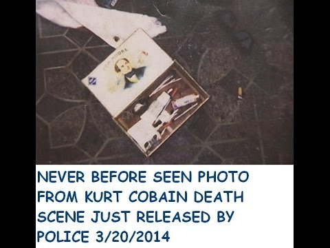 NEW KURT COBAIN  PHOTOS FROM DEATH SCENE RELEASED BY POLICE