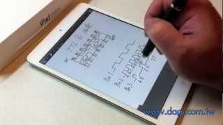 IPad Mini DAGi Stylus P603 App Goodnotes