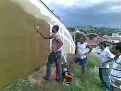 Aula Lanotex: Pinturas Airless - Maquina de pintura a jato; os primordios da inovação no Brasil