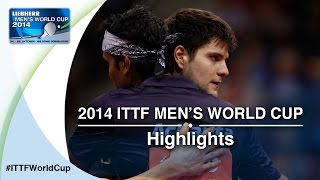 Review all the highlights from the OVTCHAROV Dimitrij vs ACHANTA Sharath Kamal Quarter Final first stage table tennis match...</div><div class=