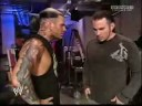 Jeff and Matt hardy backstage
