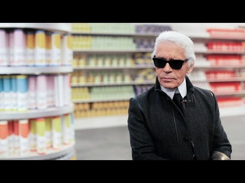 Karl Lagerfeld's Interview - Fall-Winter 2014/15 Ready-to-Wear CHANEL show