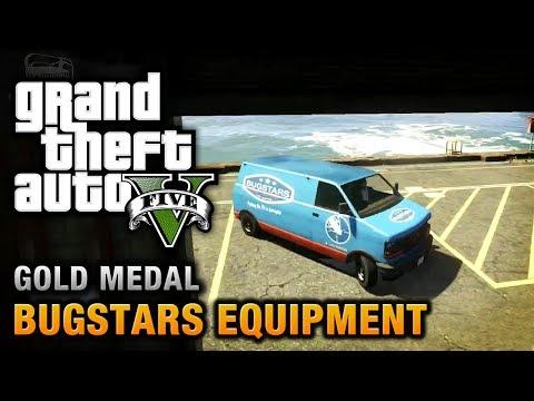 GTA 5 - Mission #14 - Bugstars Equipment [100% Gold Medal Walkthrough]