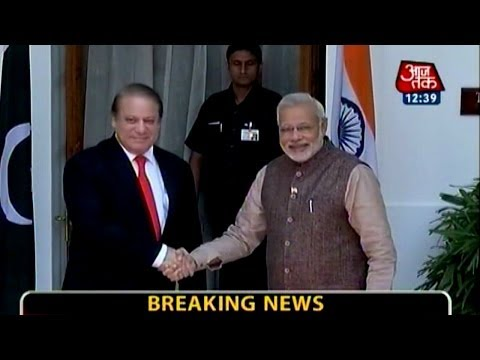 PM Modi meets Pak PM Nawaz Sharif