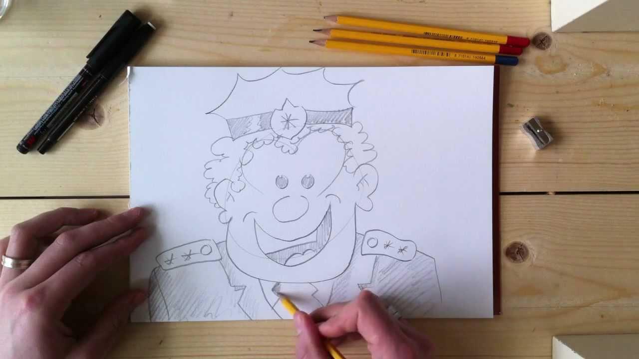 Cartoons Leren Tekenen Na Teken Oefenening 4 Youtube